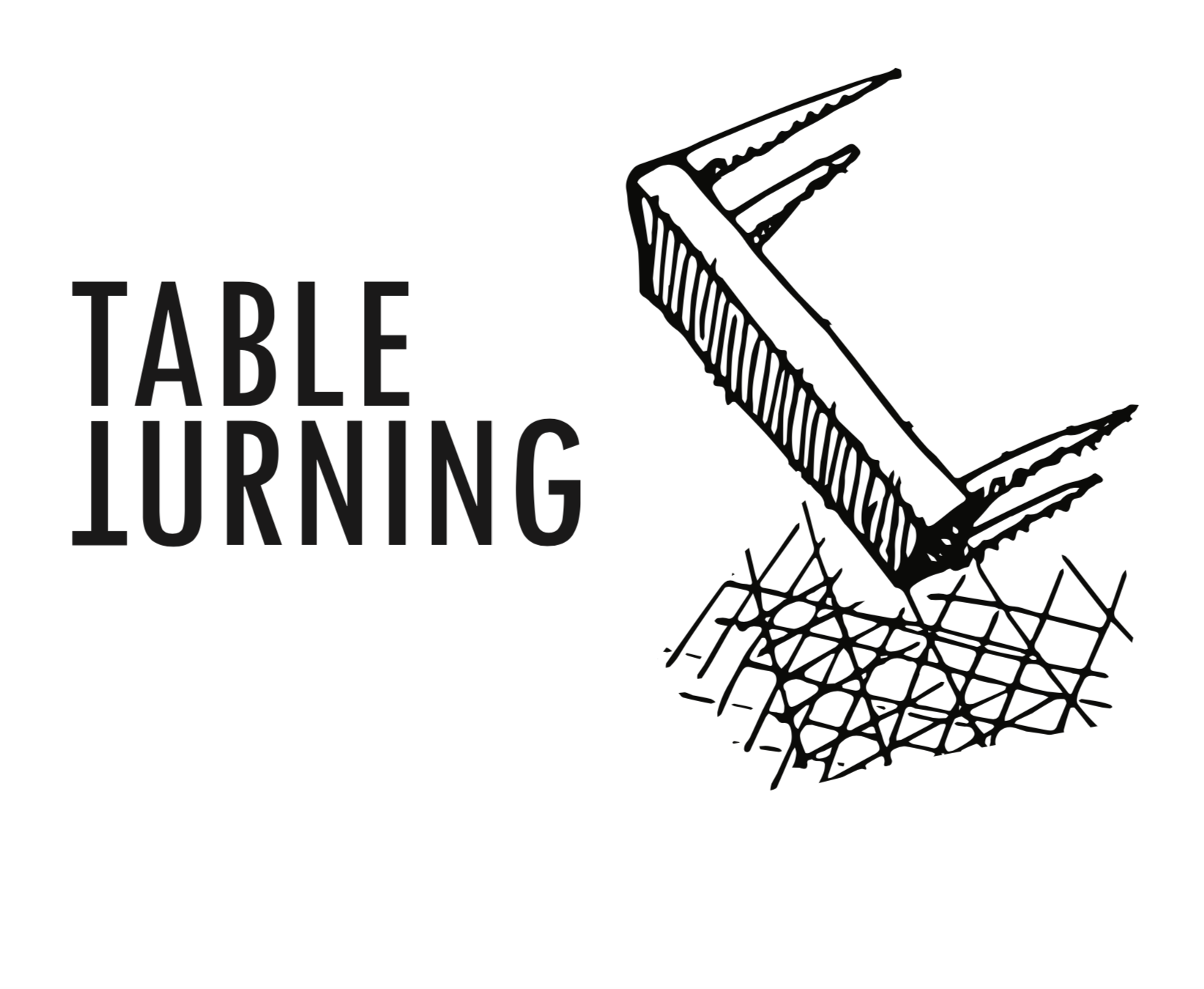 Table Turning Logo Zoom In